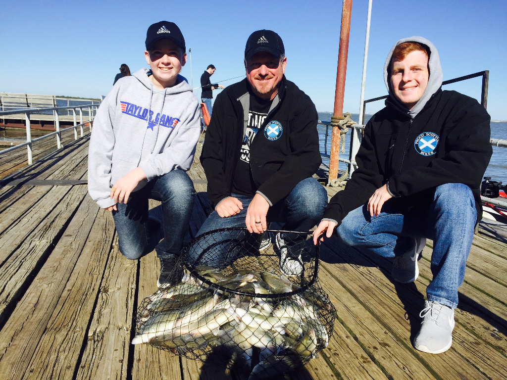 Easter Sunday Sand Bass Trip - 3/27/2016