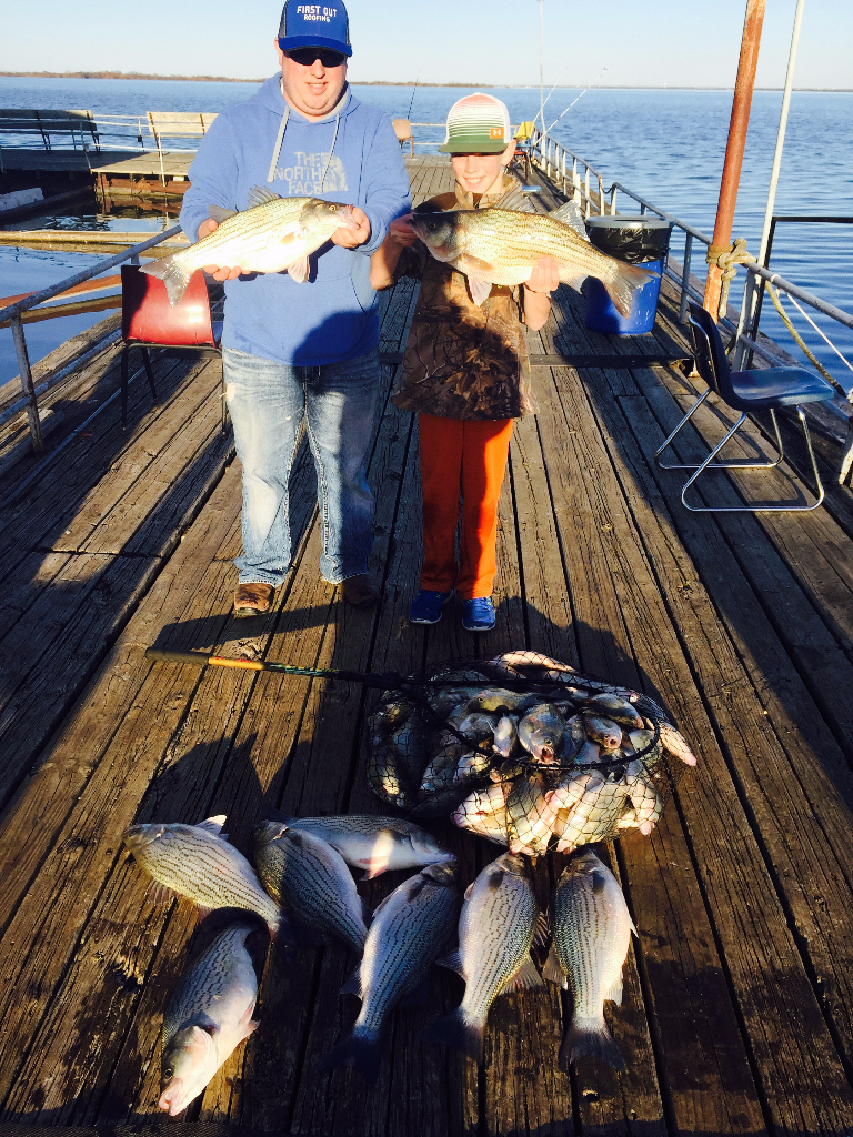 Lake Lewisville fishing trip - 1/15/16