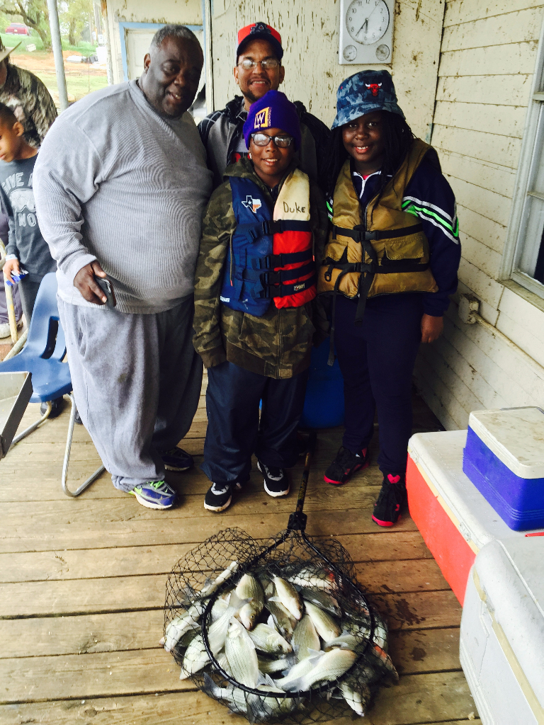 Family Sand Bass Trip - 3/18/2016