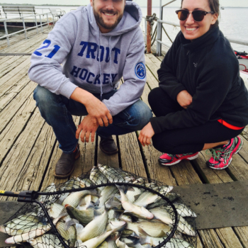 Sand Bass guided tour on lake Lewisville - 4/9/2016