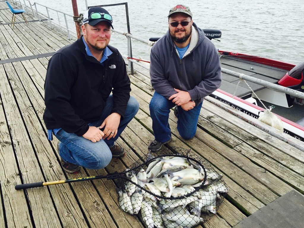 Sand Bass guided tour on lake Lewisville - 4/10/2016