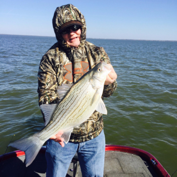 Lake Lewisville Guided Fishing Trip