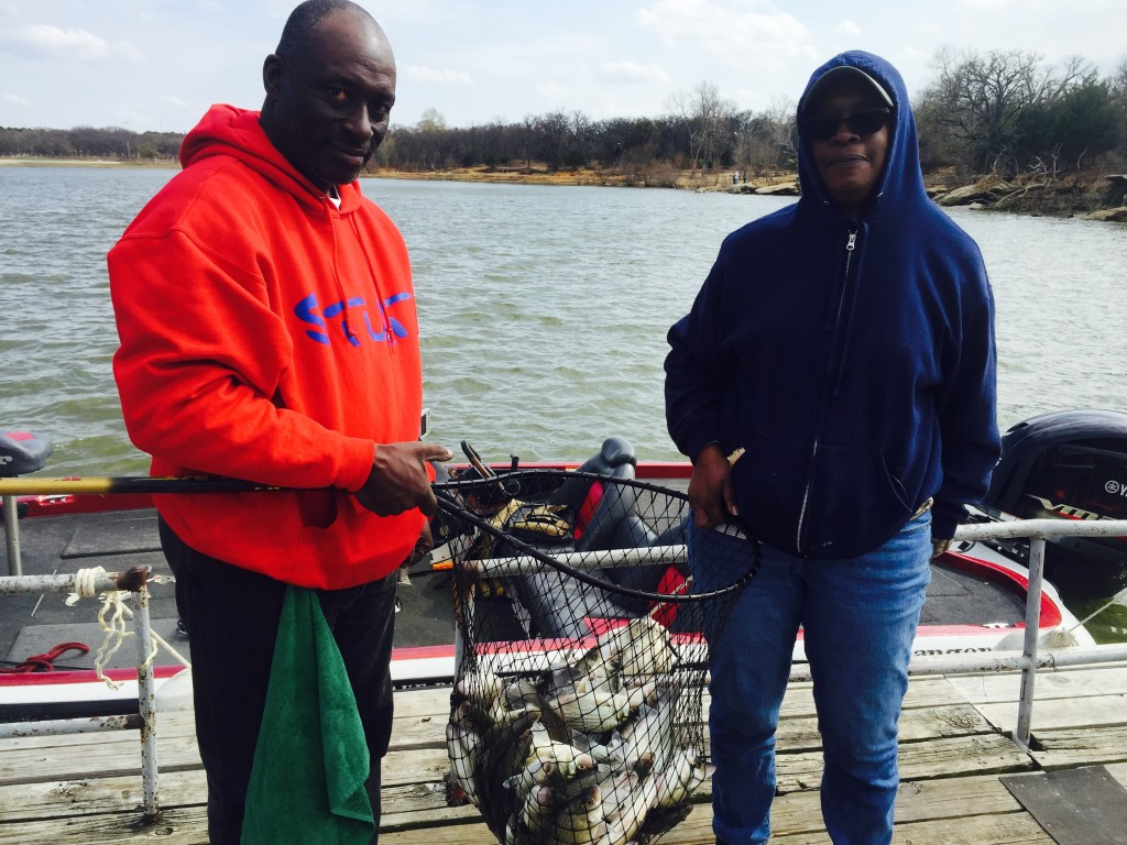 After noon fishing trip