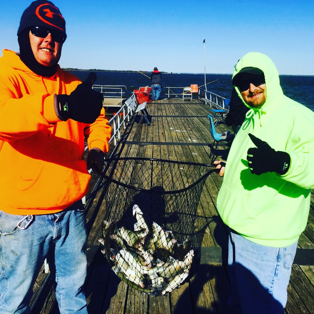 Sunday guided sand bass trip lewisville texas steve for Guided fishing trips in texas