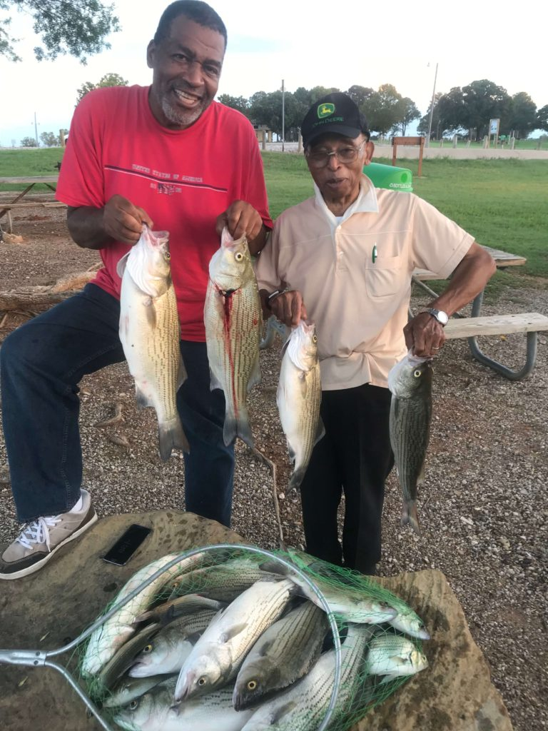 Dallas Texas - Hybrid Bass Fishing