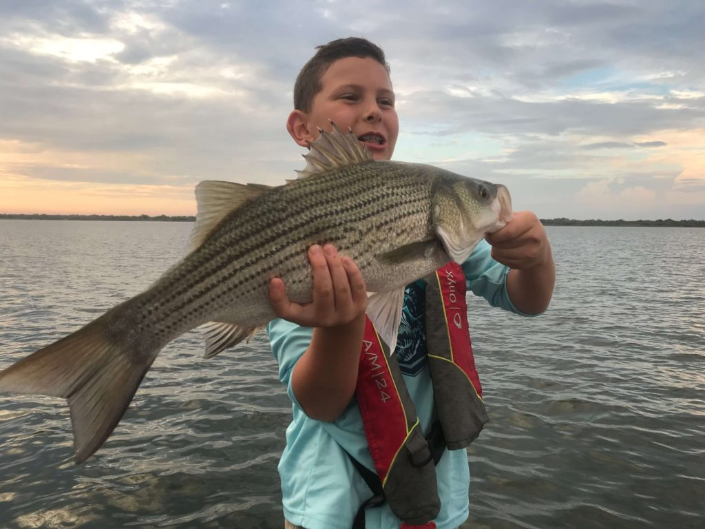 Lake Lewisville Kids Fishing